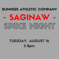 Runners Athletic Co. Spike Night - Saginaw