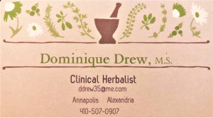 Clinical Herbalist - Dominique Drew