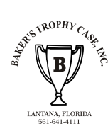 Baker's Trophy Case