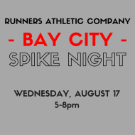 Runners Athletic Co. Spike Night - Bay City