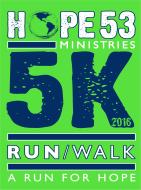 Superheroes for HOPE (HOPE 53 5K Run/Walk)