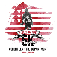 "Amboy Volunteer Fire Company's ""Fueled by Fire"" 5K run/walk and kids' FUN run"