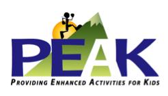 PEAK Elementary Cross Country Meet