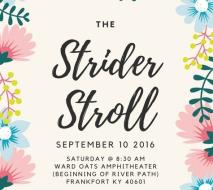 The Strider Stroll