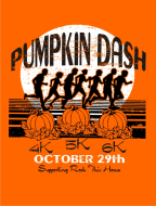Pumpkin Dash 6k, 5k, 4k