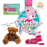 Princess Bear Run Virtual 5K (Includes Bear To Donate!)