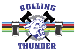 Rolling Thunder Cyclocross Race Logo