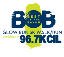 Best of the Bayou 5k - GLOW RUN