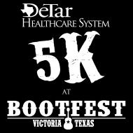 DeTar Healthcare System 5K at Bootfest 2018