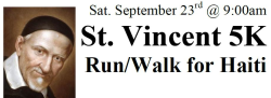 St. Vincent 5K Run/Walk for Haiti