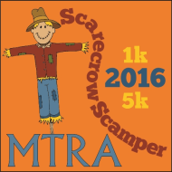 Scarecrow Scamper 5k Run, 1k Walk MTRA Benefit