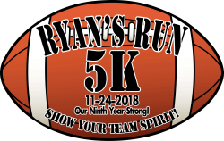 Ryan's Run 5K - Show Your Team Spirit