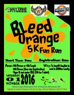 Bleed Orange 5K Fun Run
