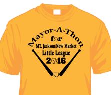 Mayor-A-Thon for Mount Jackson Little League