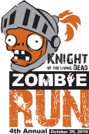 The Knight of the Living Dead Zombie 5K and Kids' Fun Run