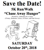 Chase Away Hunger 5k Walk/Run