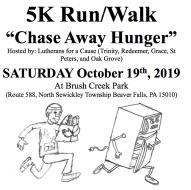 Chase Away Hunger 5k Walk/Run