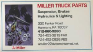 Miller Truck Parts