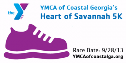 2013 YMCA Heart of Savannah 5K, 1 Mile Walk, and Relay