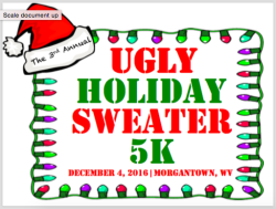 3rd Annual Ugly Holiday Sweater 5K Run/Walk