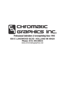 Chromatic Graphics