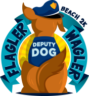 Flagler Wagler Deputy Dog 2K Beach Run