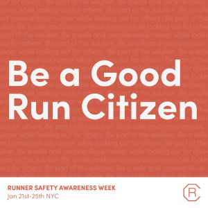 The Run Collective - Runner Safety Awareness Week