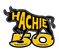 Hachie 50 Marathon, Ultra and Relay Logo