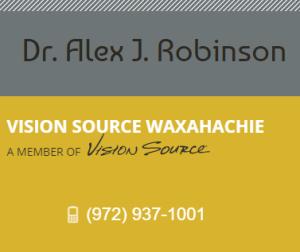 Dr. Alex Robinson - Vision Source Waxahachie