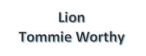 Lion Tommie Worthy