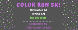 5K Color Run by Relay for Life UNC