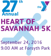 YMCA Heart of Savannah 5K and 1 Mile Survivors Walk