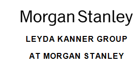 The Leyda Kanner Group at Morgan Stanley
