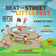 Beat the Street for Little Feet! Friends Nursery School's Fall Fun Run