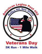 Veterans Day 5K Run-1Mile Walk