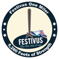 Festivus One Miler: 5280 Feets of Strength