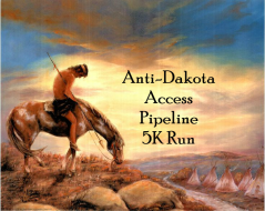 Anti-Dakota Access Pipeline 5K Run