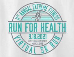 Extreme Fitness (Virtual) Run For Health 11th Annual