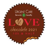 Urgent Care of Berwick Love Chocolate Half & 10k