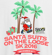 Santa Suits On The Loose 5K Walk/Jog/Run