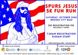 Spurs Jesus 5k Fun Run