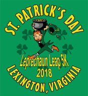 Leprechaun Leap 5K run and walk - Sponsored by the Lexington Rotary Club
