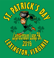 Springtime Leprechaun Leap 5K Race - Run/Walk Saturday, March 23, 2019 Lexington, VA