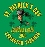 Virtual 2020 Leprechaun Leap 5K Race - Run/Walk Friday September 25, 2020 through Sunday September 27, 2020 Lexington, VA