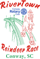 Conway Rotary RiverTown Reindeer Race