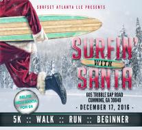 Surfin with Santa 5k