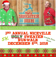 3rd Annual Niceville Ugly Sweater Run/Walk