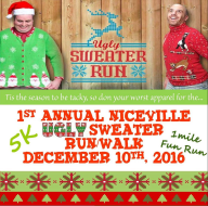 1st Annual Niceville Ugly Sweater Run/Walk