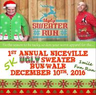 1st Annual Niceville Ugly Sweater Run/Walk
