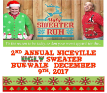 2nd Annual Niceville Ugly Sweater Run/Walk